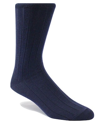 InStitchu Accessories socks Swanky Navy Ribbed