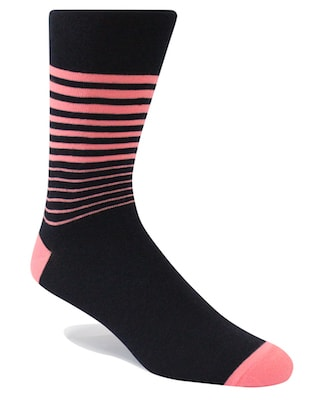 InStitchu Accessories socks Swanky Horizons Coral