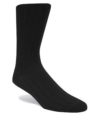 InStitchu Accessories socks Swanky Black Ribbed