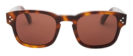 InStitchu Accessories sunglasses Pacifico Optical Ashley Choc Havana with Brown Lens