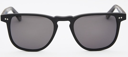 InStitchu Accessories sunglasses Pacifico Optical Blair Matte Black with Polarise Grey Lens