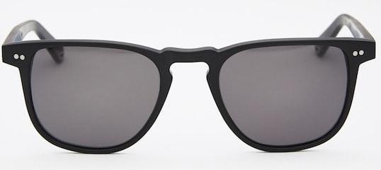 InStitchu Accessories sunglasses Pacifico Optical Blair Matte Black with Polarise Grey Lens