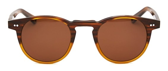 InStitchu Accessories sunglasses Pacifico Optical Buckler Caramel with Polarised Brown Lens