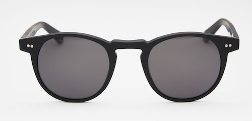 InStitchu Accessories sunglasses Pacifico Optical Buckler Matte Black with Polarized Grey Lens