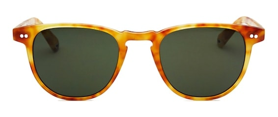 36dffabed4 InStitchu Accessories sunglasses Pacifico Optical Campbell Blonde Havana  with Green Lens