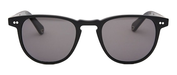 InStitchu Accessories sunglasses Pacifico Optical Campbell Matte Black with Polarised Grey Lenses