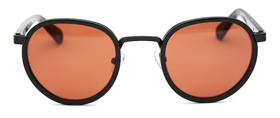 InStitchu Accessories sunglasses Pacifico Optical Carter Glosse Black with Copper Lens