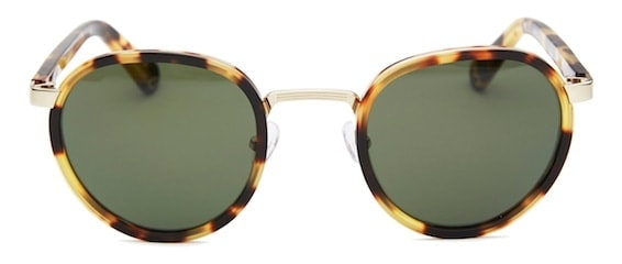 InStitchu Accessories sunglasses Pacifico Optical Carter Tokyo Tortoise with Green Lens