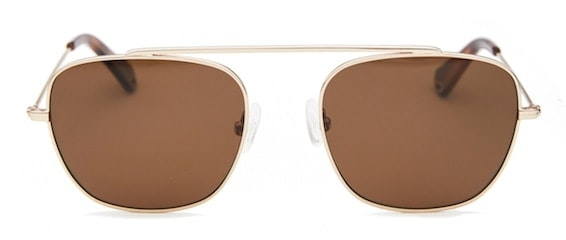 InStitchu Accessories sunglasses Pacifico Optical South Rose Gold with Polarised Brown Lens