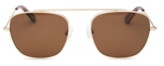 55f60b9550 InStitchu Accessories sunglasses Pacifico Optical South Rose Gold with Polarised  Brown Lens