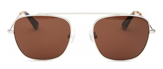InStitchu Accessories sunglasses Pacifico Optical South Silver with Brown Lens