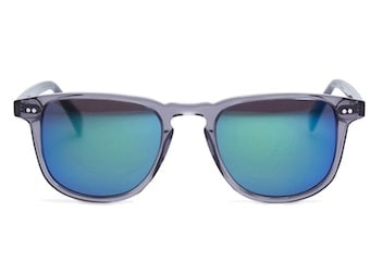 InStitchu Accessories sunglasses Pacifico Optical Blair Slate with Grey Emerald Mirror Lens