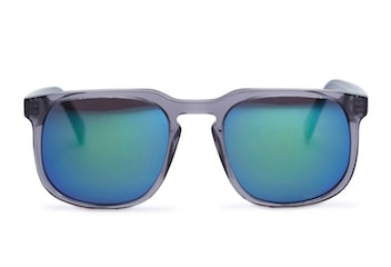 InStitchu Accessories sunglasses Pacifico Optical Dino Slate with Grey Emerald Mirror Lens