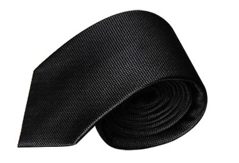 InStitchu Accessories tie InStitchu Black Textured Tie