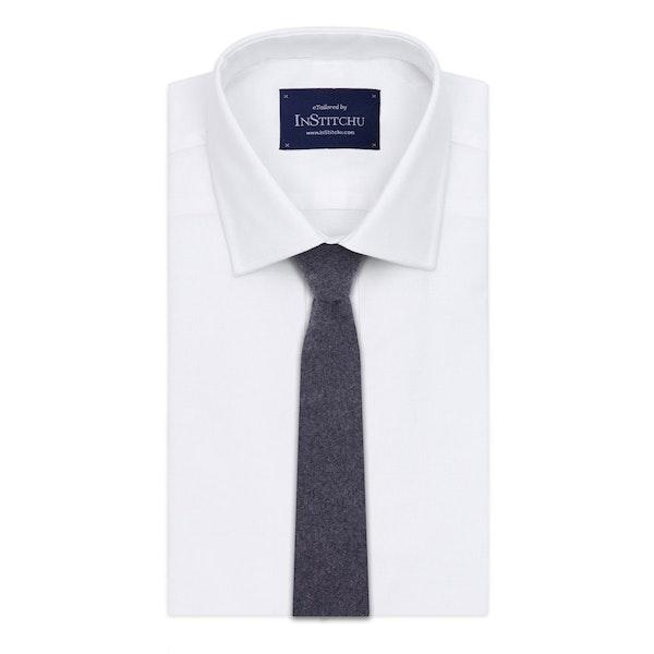 InStitchu Essentials Accessories Tie Broadbeach Grey Wool Blend Tie