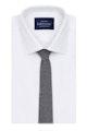 InStitchu Essentials Accessories Tie Whale Grey Arrowpoint Wool Blend Tie