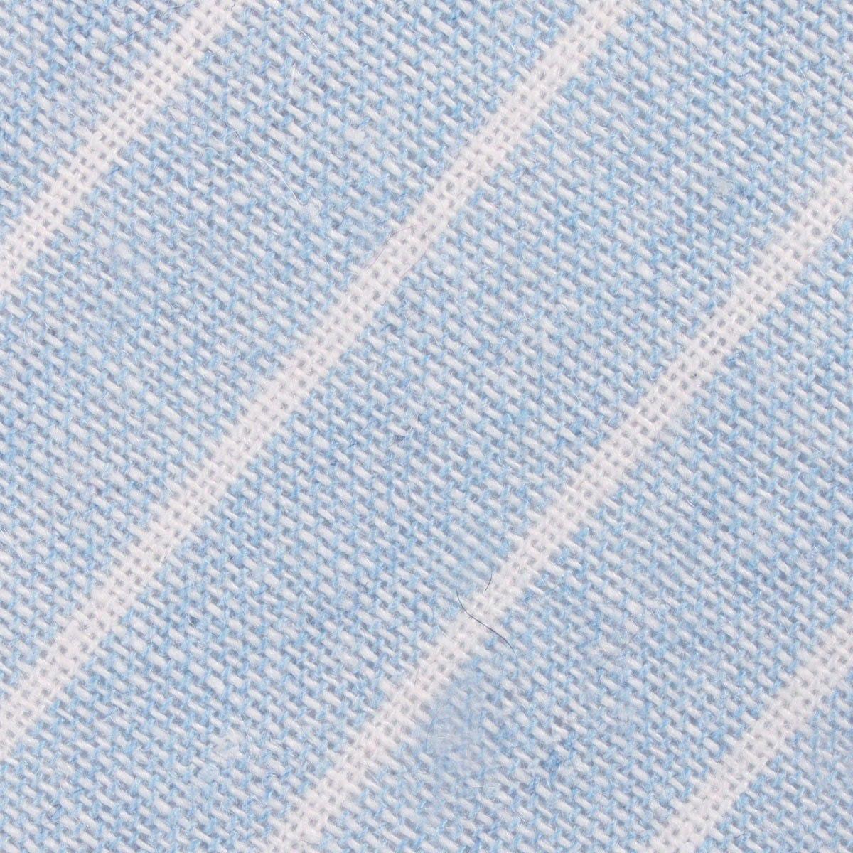 InStitchu Accessories tie  OTAA Baby Blue Wide Pinstripe Linen Tie