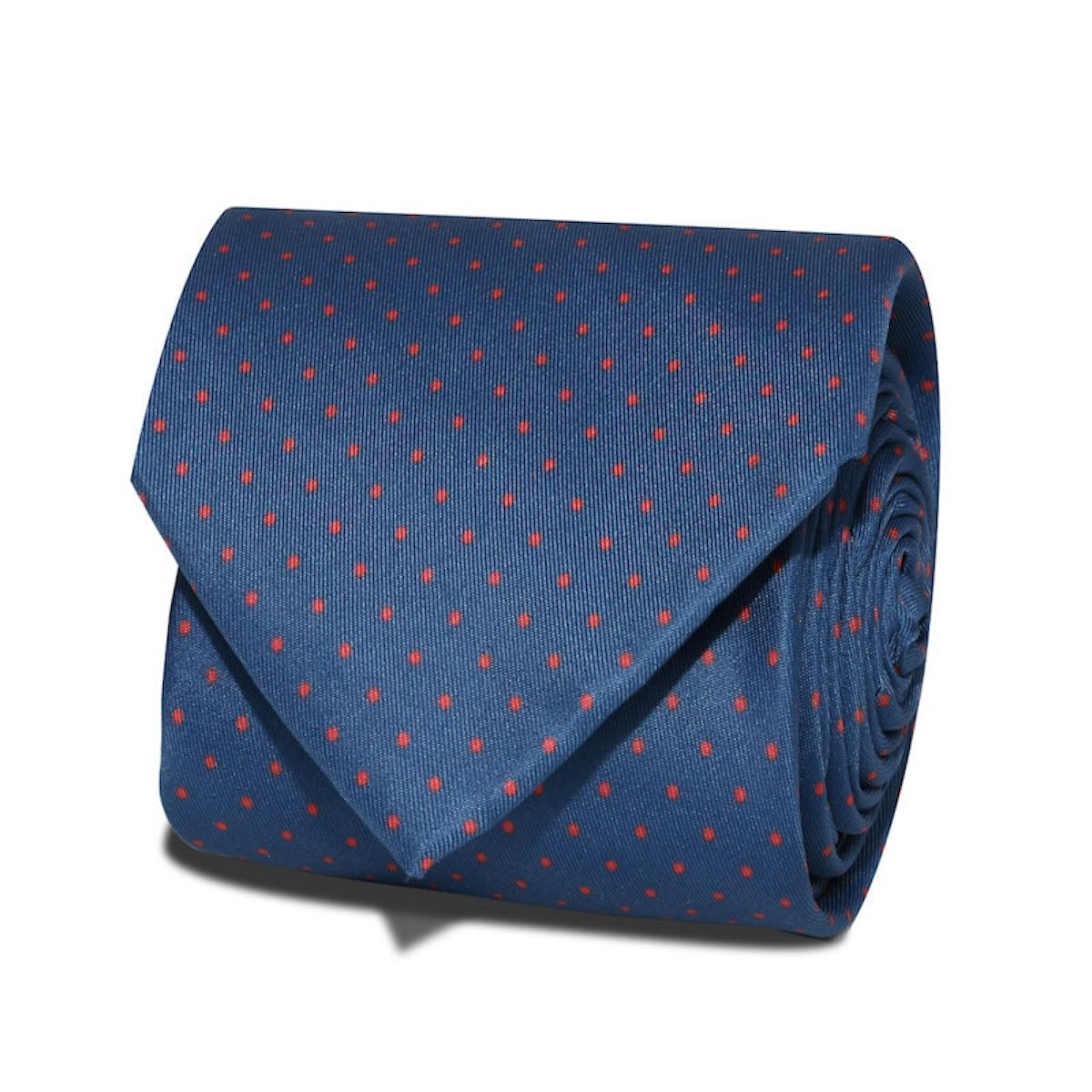 InStitchu Accessories Cape Spotted Dark Navy Tie