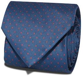 InStitchu Accessories Cape Spotted Dark Navy Tie