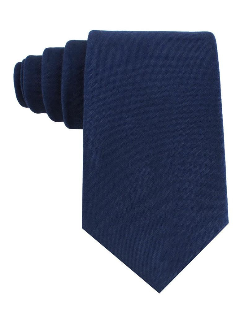 InStitchu Accessories tie  OTAA Jeune Fille Endormie Navy Linen Tie
