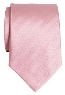 InStitchu Accessories tie InStitchu Pink Herringbone Tie