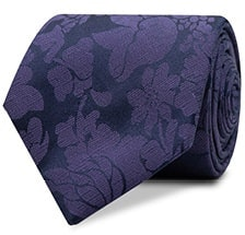 InStitchu Accessories tie InStitchu Purple Paisley Tie