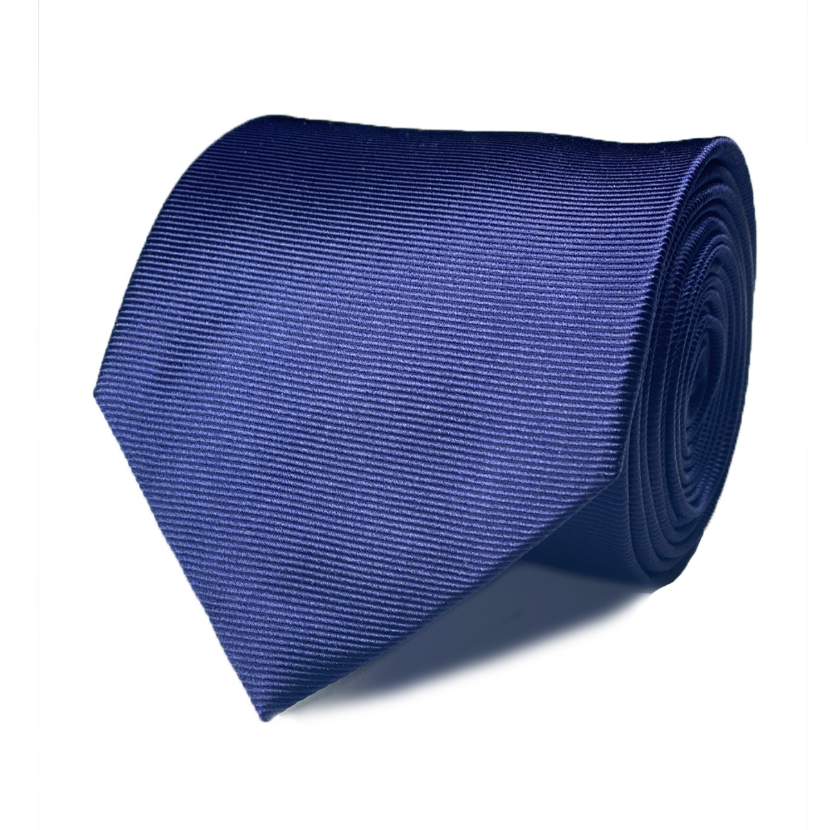 InStitchu Collection The Fasano Navy Blue Plain Silk Tie