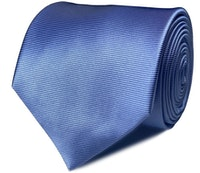 InStitchu Collection The Otranto Baby Blue Plain Silk Tie