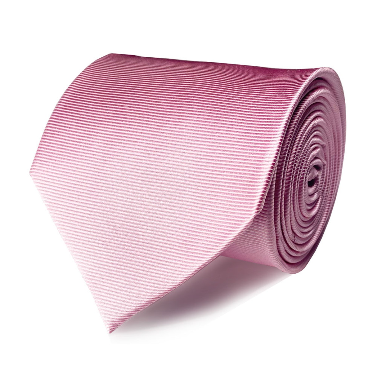 InStitchu Collection The Taranto Pink Plain Silk Tie
