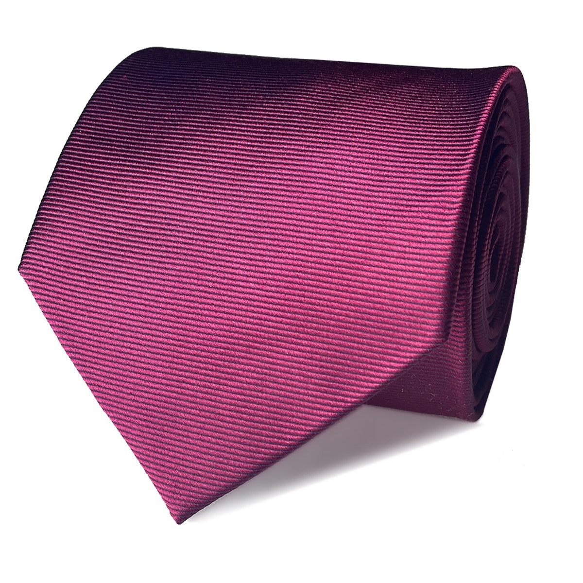 InStitchu Collection The Terzo Maroon Plain Silk Tie