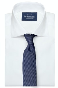 InStitchu Collection The Veglie Navy Patterned Silk Tie