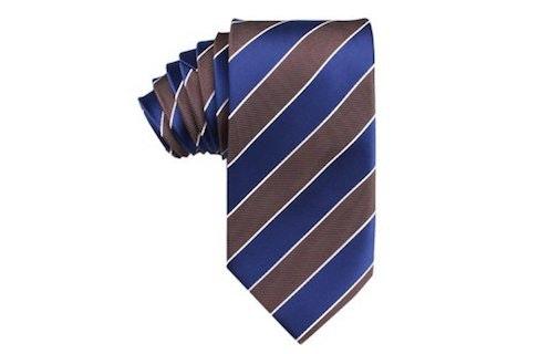 InStitchu Accessories tie OTAA Navy Blue Black White Diagonal Tie