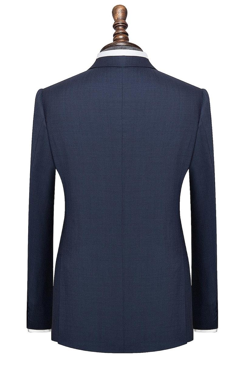 InStitchu Collection The Avalon Navy Plain mens suit