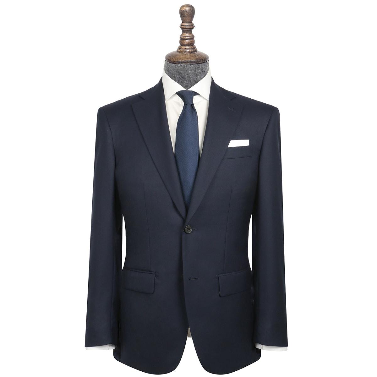 InStitchu Collection Adams Navy Wool Jacket