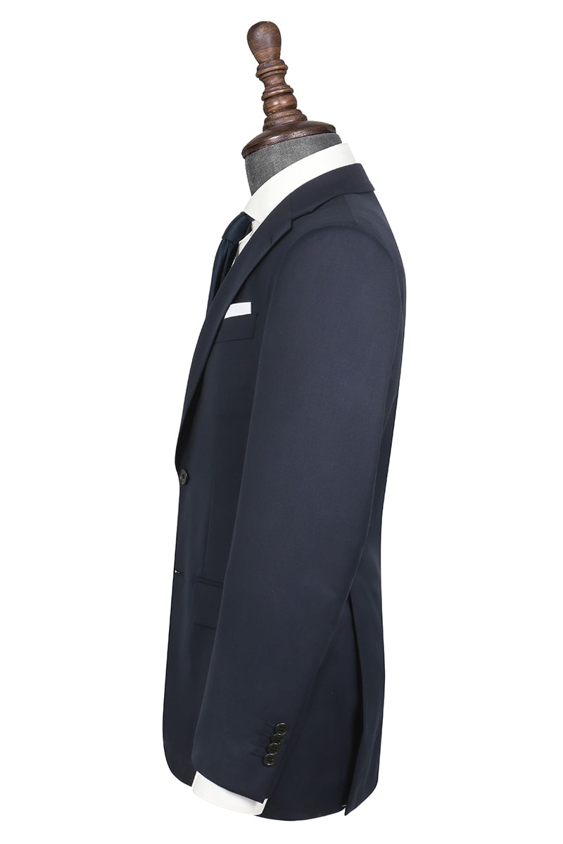 InStitchu Collection Andrade Navy Wool Jacket