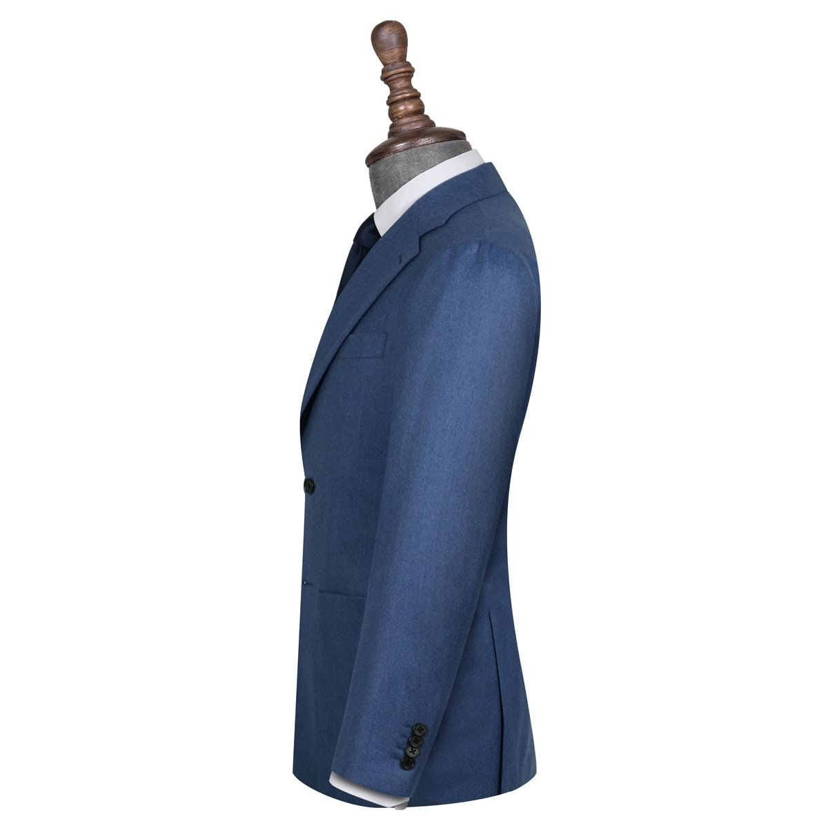 InStitchu Collection Bengal Blue Wool Jacket