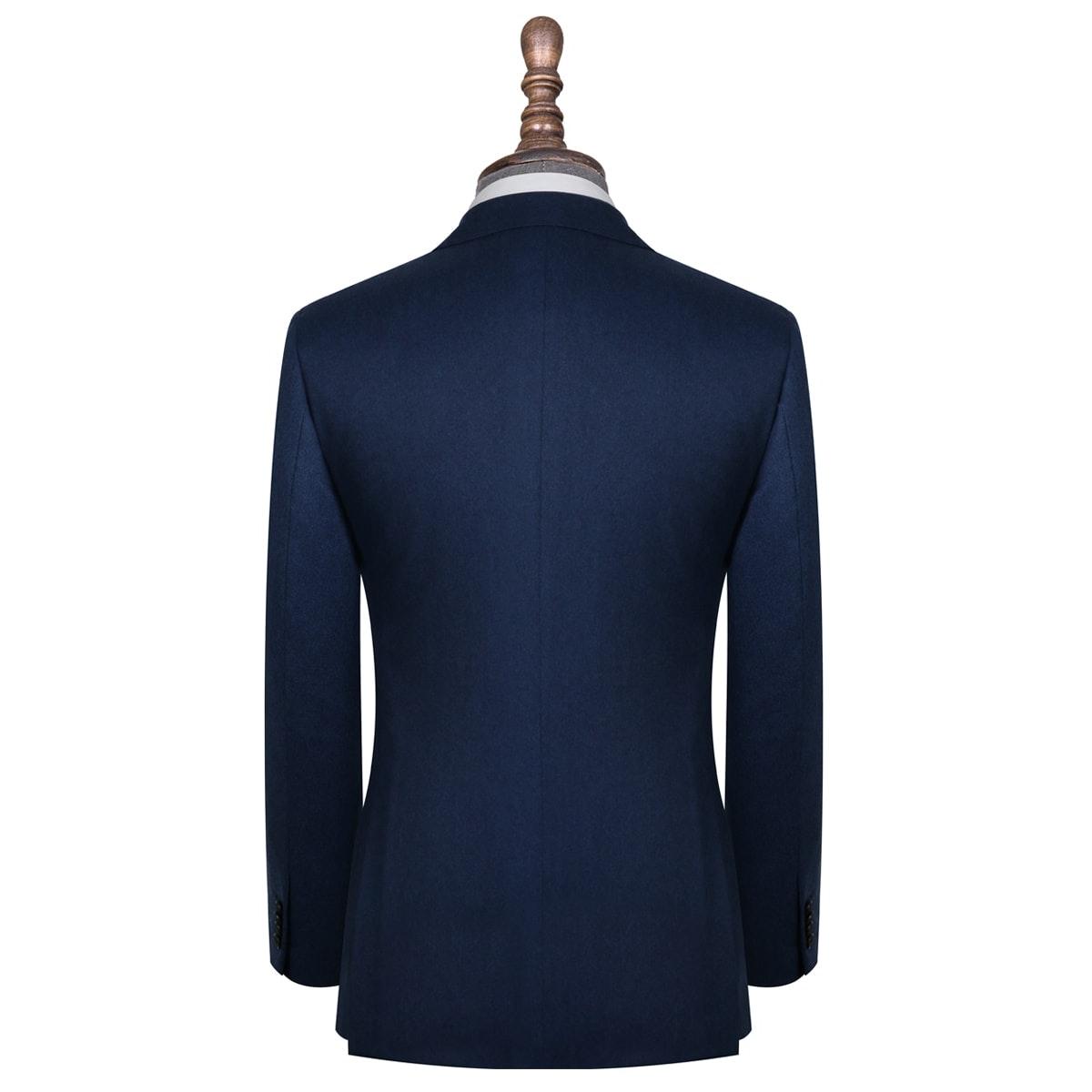 InStitchu Collection Bushelman Blue Wool Jacket