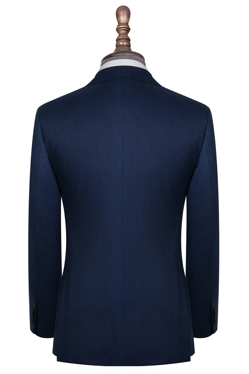 InStitchu Collection Bushelman Blue Wool Jacket