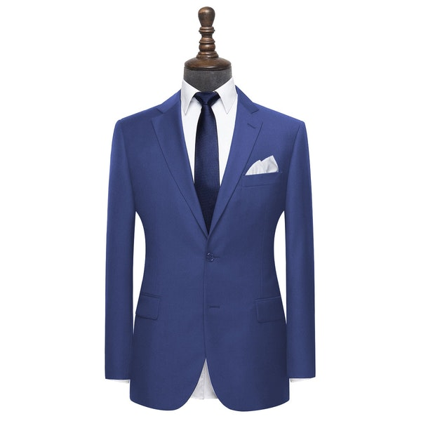 InStitchu Collection Clover Blue Wool Jacket
