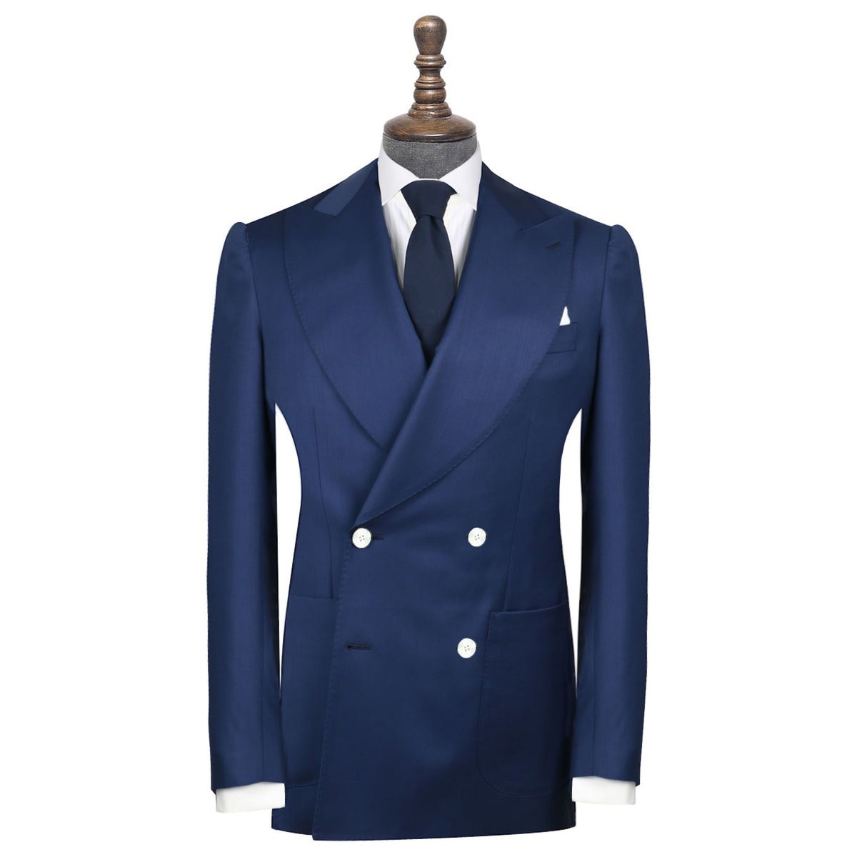 InStitchu Collection Donegal Blue Wool Jacket
