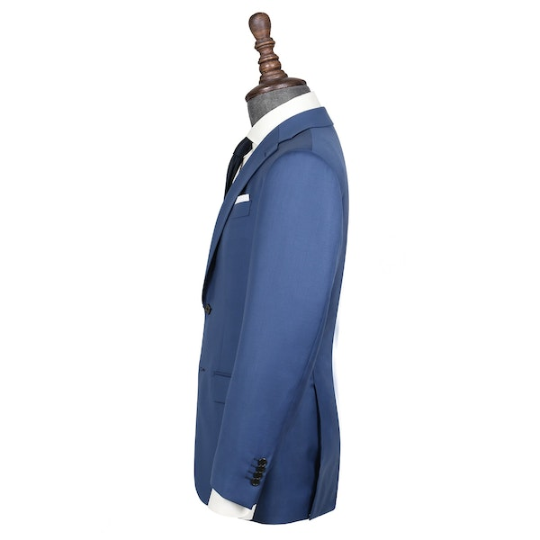 InStitchu Collection Dove Blue Wool Jacket