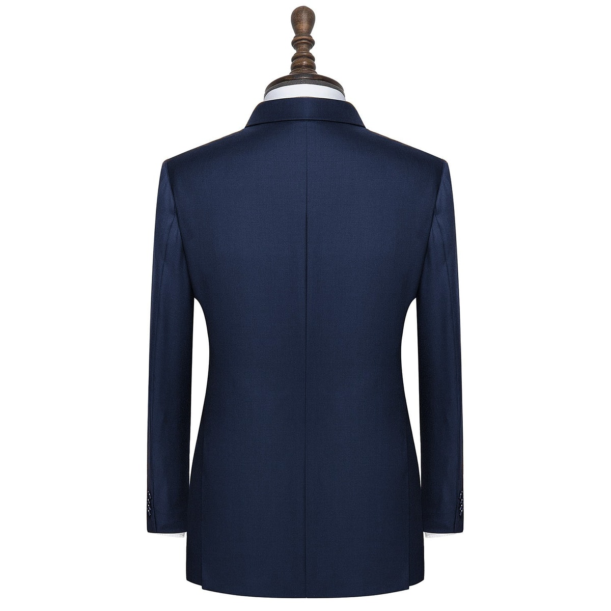 InStitchu Collection Hacking Navy Wool Jacket