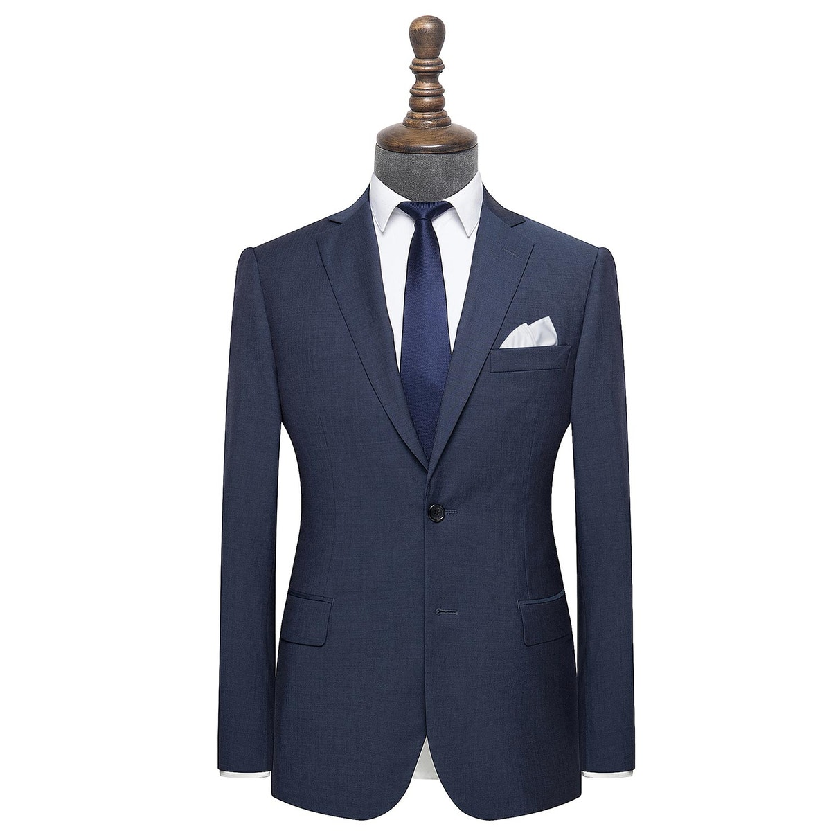 InStitchu Collection Hordern Blue Wool Suit