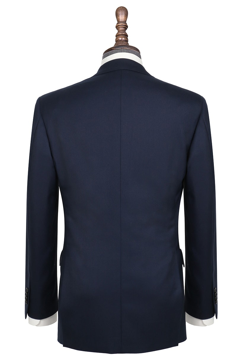 InStitchu Collection Miller Navy Nailhead Wool Jacket
