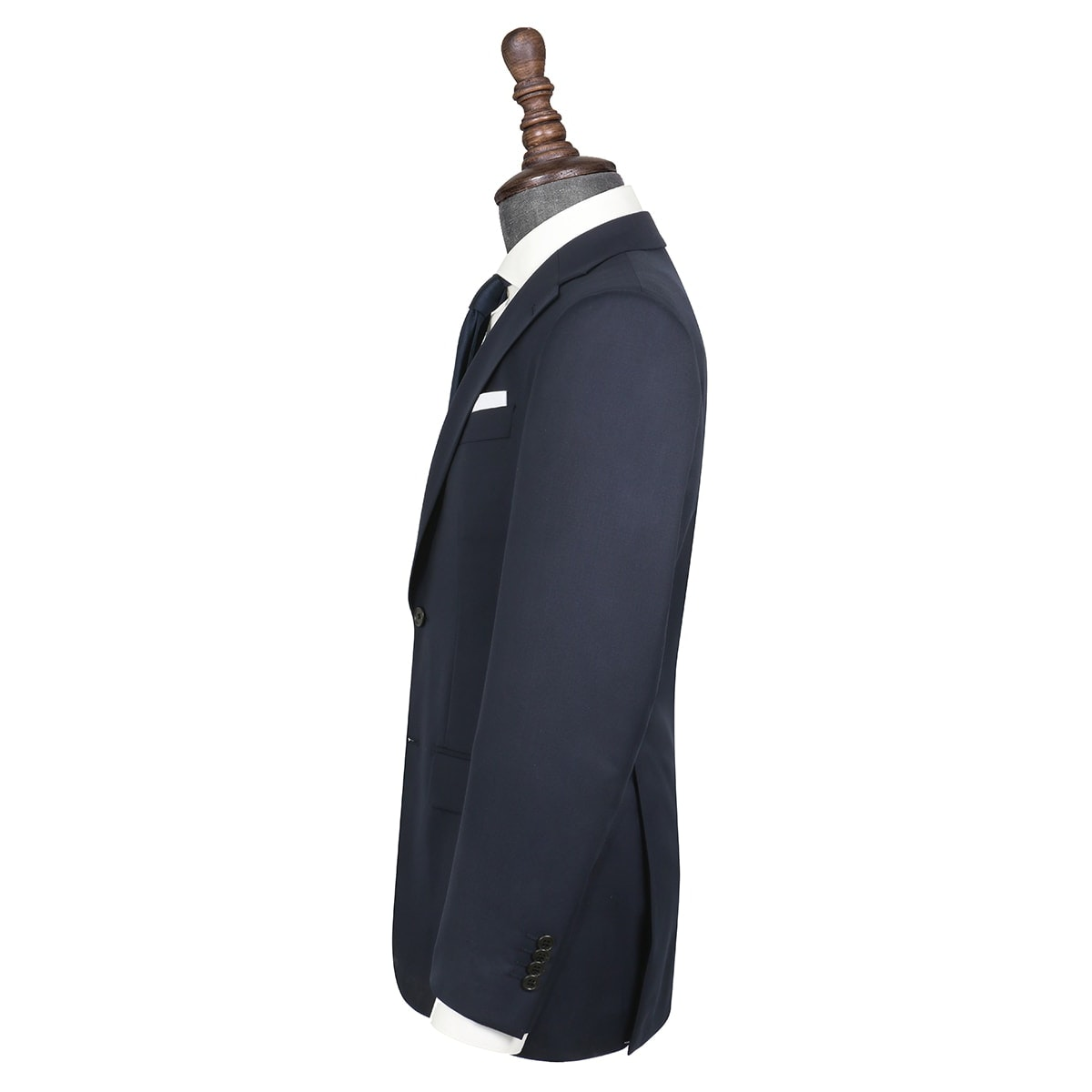 InStitchu Collection Powls Navy Wool Jacket