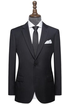 InStitchu Collection Robertson Black Wool Jacket