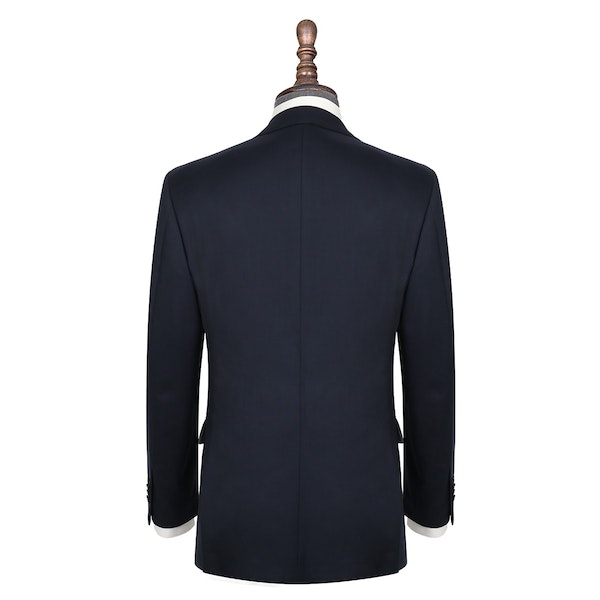 InStitchu Collection Scotland Navy Wool Jacket