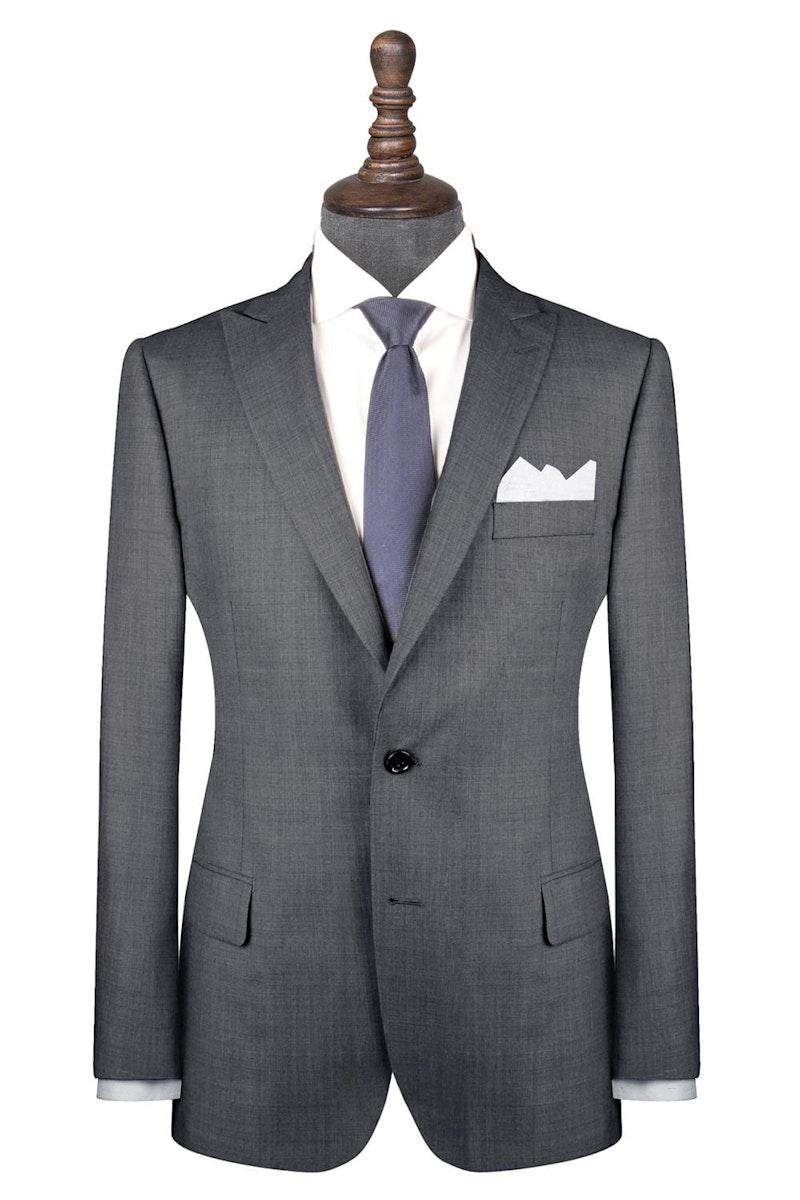 InStitchu Collection Spade Grey Wool Jacket