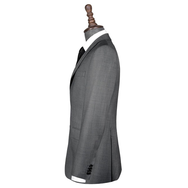 InStitchu Collection Spade Grey Wool Jacket