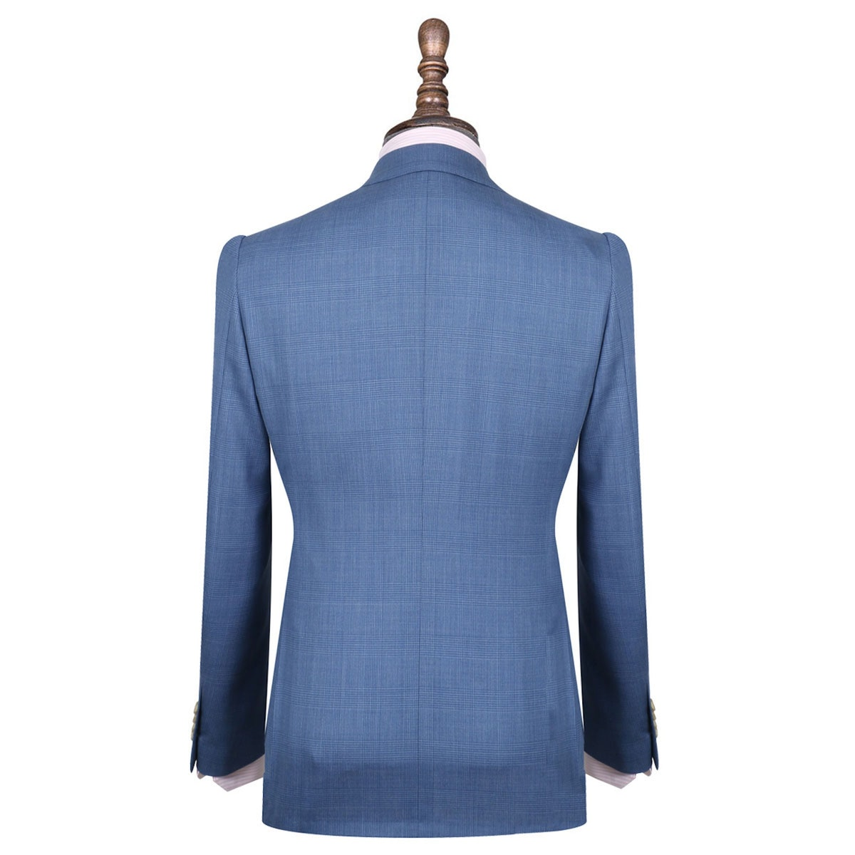 InStitchu Collection The Caine Blue Wool Prince Of Wales
